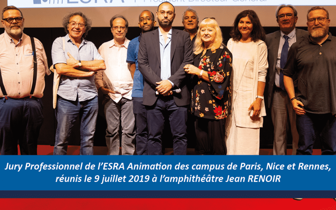 Jury Professionnel ESRA Animation 2019