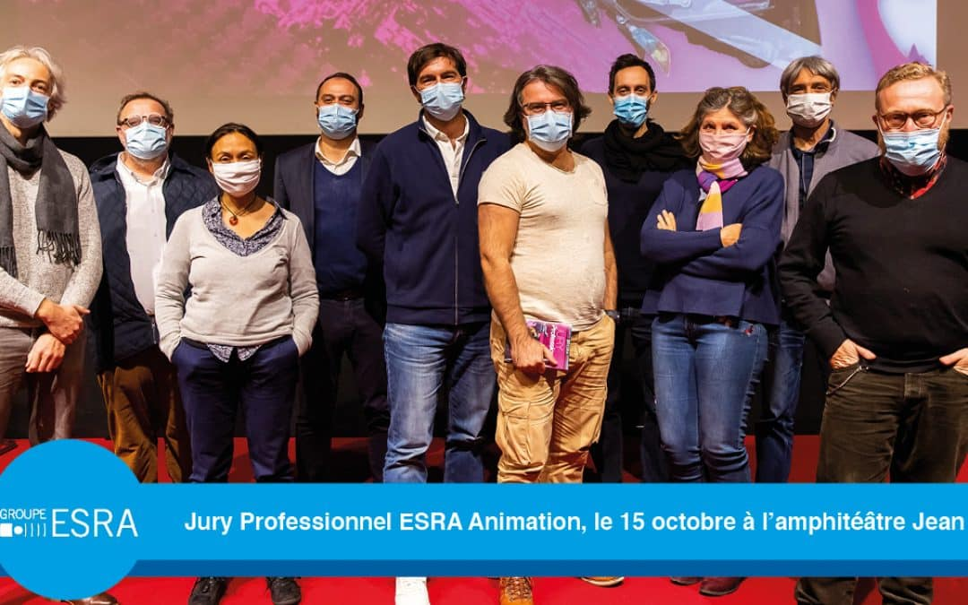 Jury Professionnel ESRA Animation – 15 octobre 2020